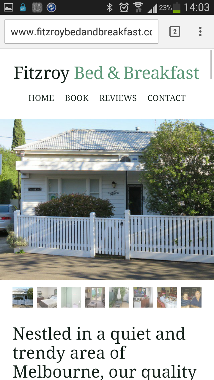 North Fitzroy Bed and Breakfast