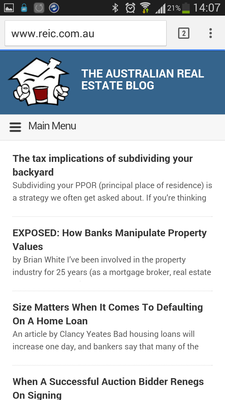 The Australian Real Estate Blog